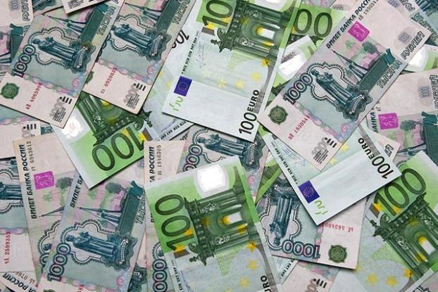 Евро, Российский Рубль