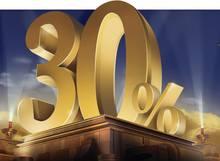 Акция «30% за пополнение!»