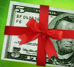 Бездепозитный бонус 5$