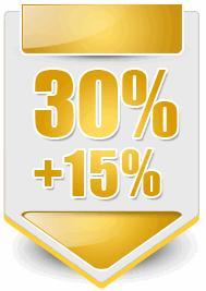 Бонус на пополнение 30% от суммы 100$