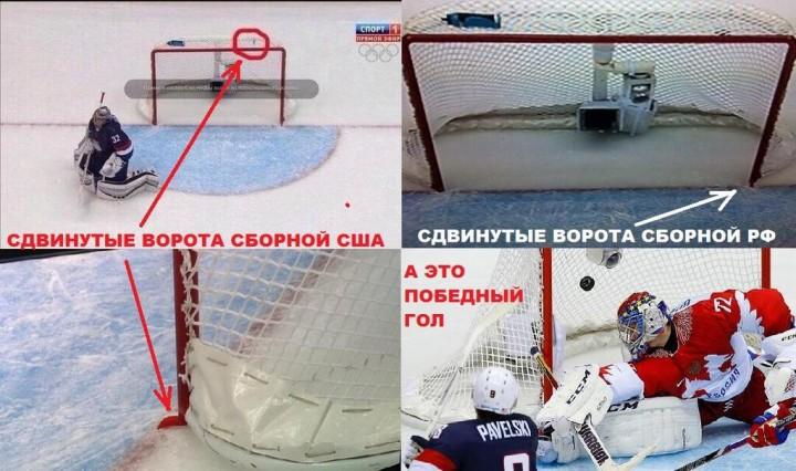 Хоккейная ворота как сделать