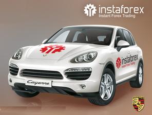 Розыгрыш автомобиля Porsche Cayenne среди реальных счетов от 1500$